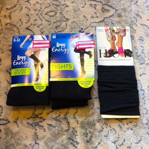 NWT🧦 Set of 3 socks/tights🧦
